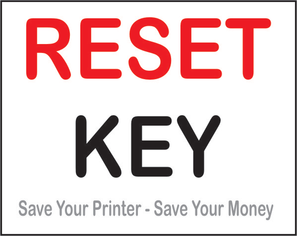 Download Reset Key and Reset Your Printer in 3 Clicks